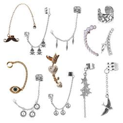 10 Unique Fashion Earrings Gift Set for Christmas Gifts Wome