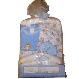 "Snugly Baby 12 Piece Layette Gift Set, ""Bear Hugs"" Blue Boys"