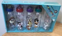 1995 Vtg Gift Set Looney Tunes Gerber Baby Bottles 9 oz Set