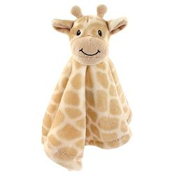 Hudson Baby Animal Friend Plushy Security Blanket, Giraffe