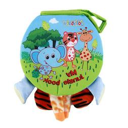 Baby Animal Cognition Cloth Book Toy Children Early Educatio