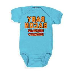 CafePress Baby Bacon Cute Infant Bodysuit Baby Romper