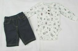 Baby boy clothes, 18 Months , Carter's 2 piece pant set NEW