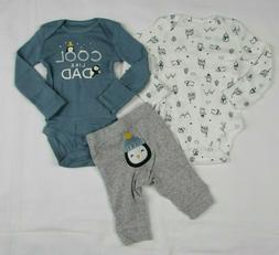 Baby boy clothes, 9 MONTHS, Carter's  3 piece set new with t