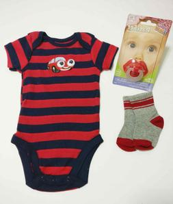 Baby Boy Clothing 3pc itemlot 0-3 month new born baby show