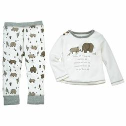 "Mud Pie Baby Boy Two Piece Set ""Be Kind"" Size 6-9 Months NEW"