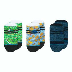Stance Baby Boys Socks 3 pr Size 3-6 mo Combed Cotton Thrash