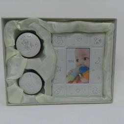 Baby  Photo Frame With First Curl & Tooth Keepsake Boxes Gif