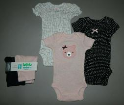 Baby girl clothes, Preemie, Carter's 5 piece set/SEE DETAILS