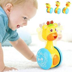 Baby Rattles Tumbler Doll Toys Bell Learning Toys Educationa