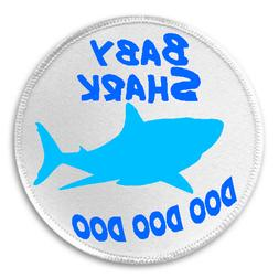 "Baby Shark Doo Doo Doo - 3"" Sew/Iron On Patch Song Meme Kids"