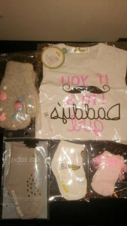 Baby Shower 6-Piece Gift Set For Girl PLUS $525 in Gift Card