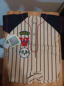 Little Me Baseball Toddler clothing 6 MonthesNew See Pics
