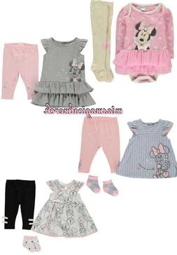 Brand New Baby Girl's Disney Minnie Mouse Clothing 4 To Choo