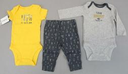 Carter's Baby Boy's 3-Piece Little Character Set PP7 Multico