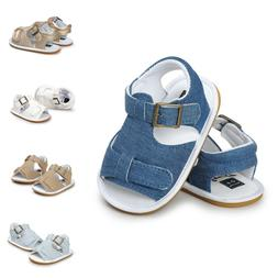 Cute Gold Baby Girls Barefoot Sandals Shoes Summer Clothes G
