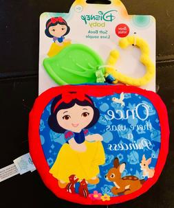 Disney Baby Snow White Soft Book for Newborns & Up, Great fo