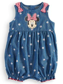 Disney Minnie Mouse Baby Girl Romper 3/6 Months Gift