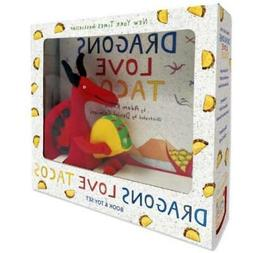 Dragons Love Tacos Gift Set Boxed with Small HARDCOVER Book