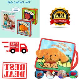 Education Baby Toy Cloth Book Baby With Crinkly Sounds Devel