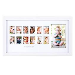 Pearhead My First Year Photo Moments Baby Keepsake Frame