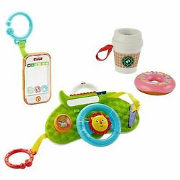 Fisher-Price Morning Rush Baby Toy Gift Set with Steering Wh