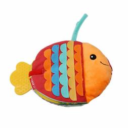 Fun Cartoon Fish Cloth Bed Cognize Book Educational Toy Kid