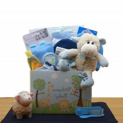 GBDS 890352-B Welcome New Baby Gift Box - Blue