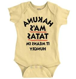 Hakuna Ma Tatas Lion King Funny Gift Cool Mother Day Baby Gy