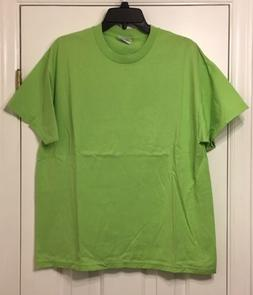 Hanes Heavyweight 50/50 T-Shirt Size L NEW