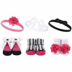 Hudson Hair Accessories Baby Girls' Sock And Headband Giftse
