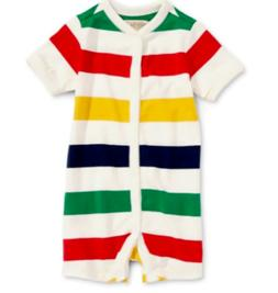Hudson's Bay Company one piece Baby Romper HBC stripes NEW
