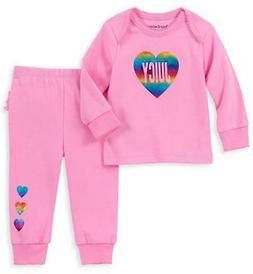 Juicy Couture Infant Girls Pink Layette Pant Set Size 0/3M 3