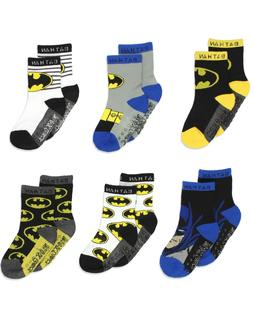 Batman Justice League Baby Toddler Boy's 6 Pack Athletic Cre
