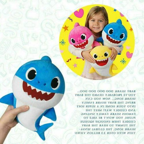 2019 Baby Shark Singing Music Doll Song Gift US
