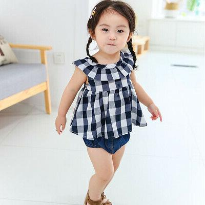 3PCS Baby Set Top Shorts Cute Outfit Gift