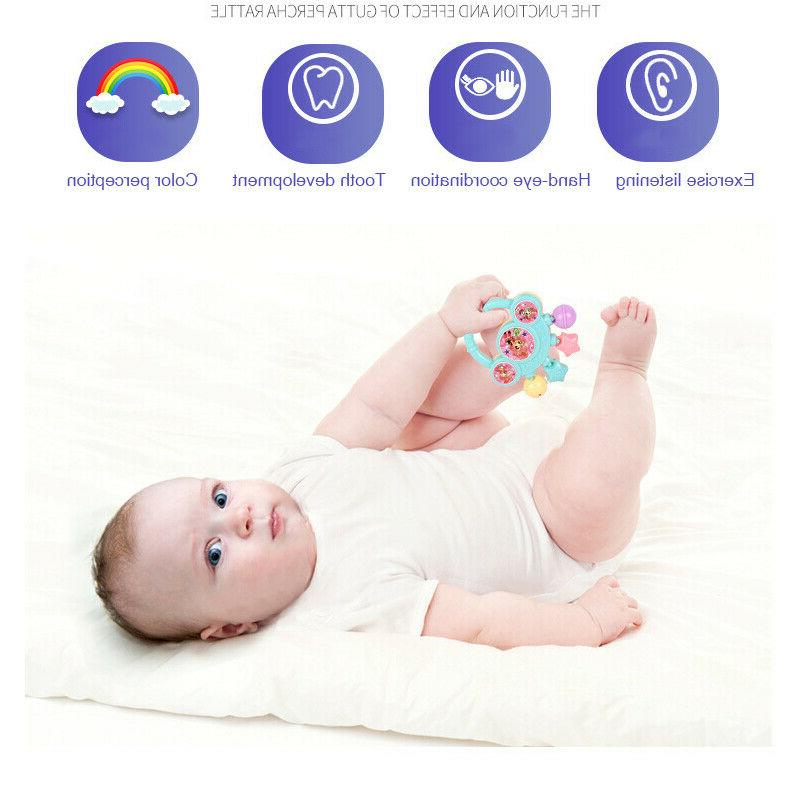 7Pcs Bell Baby Kids Toy Gift