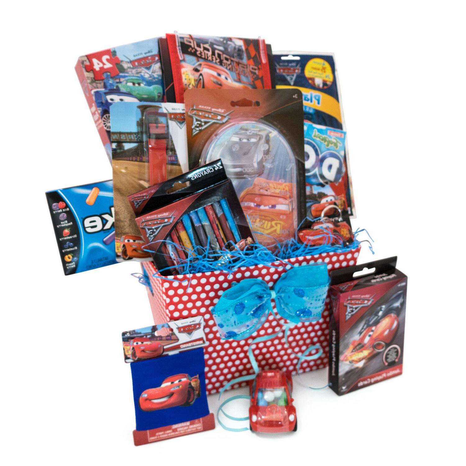 Gift Baskets For Kids Spiderman & Games Accessory Toys,