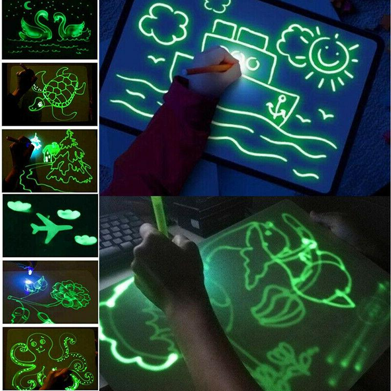 A4 Fun And Drawing Board Educational Gift Toy US