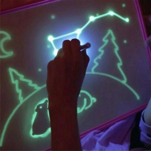 A4 With Light Fun And Developing Drawing Board Kids Educational
