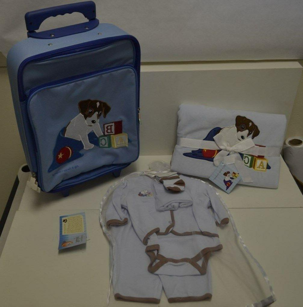 ally and bailey baby boy blue layette