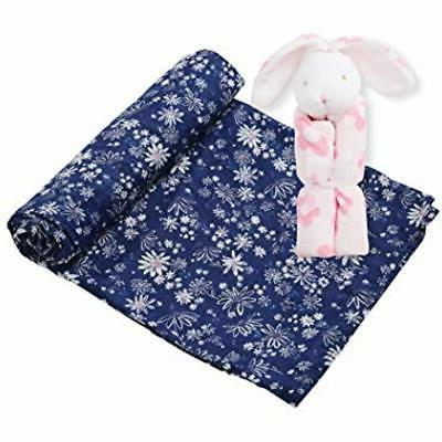 Angel Bed Blankets Dear Swaddle Set, Bunny