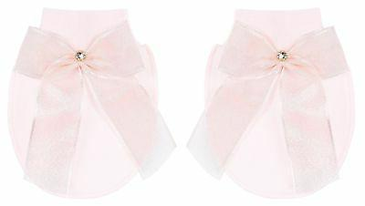 Lilax Girl Jewels Crown Layette Gift 0-3 Pink