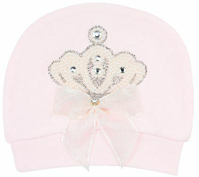 Lilax Baby Crown Layette Piece Gift 0-3 Pink