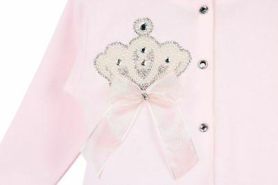 Lilax Crown Layette Piece Gift 0-3 Pink