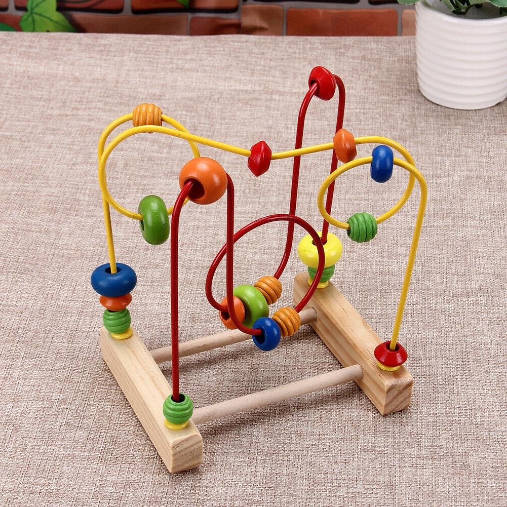 Colorful Mini Beads Wire Educational Toys Gift