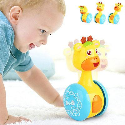 baby rattles tumbler doll toys bell learning