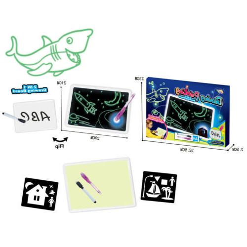 Draw Light Fun And Toy Drawing Board Gift