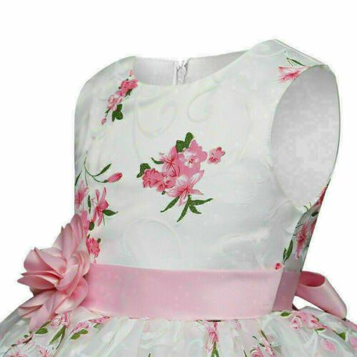 Floral Baby Formal Dresses new