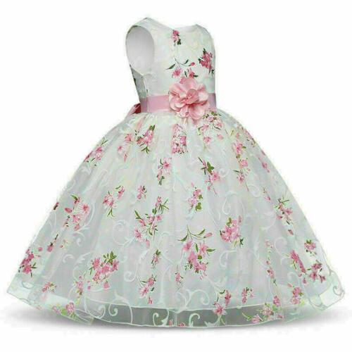 Floral Baby Formal Tutu new